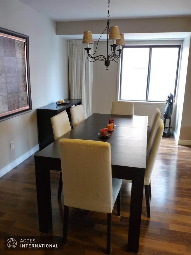 Spacieux condominium louer compl tement meubl et quip for Louer meuble montreal