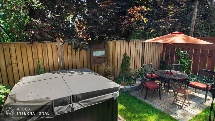 Beau cottage louer compl tement meubl et quip dans le quartier ahuntsic montr al for Meuble terrasse montreal