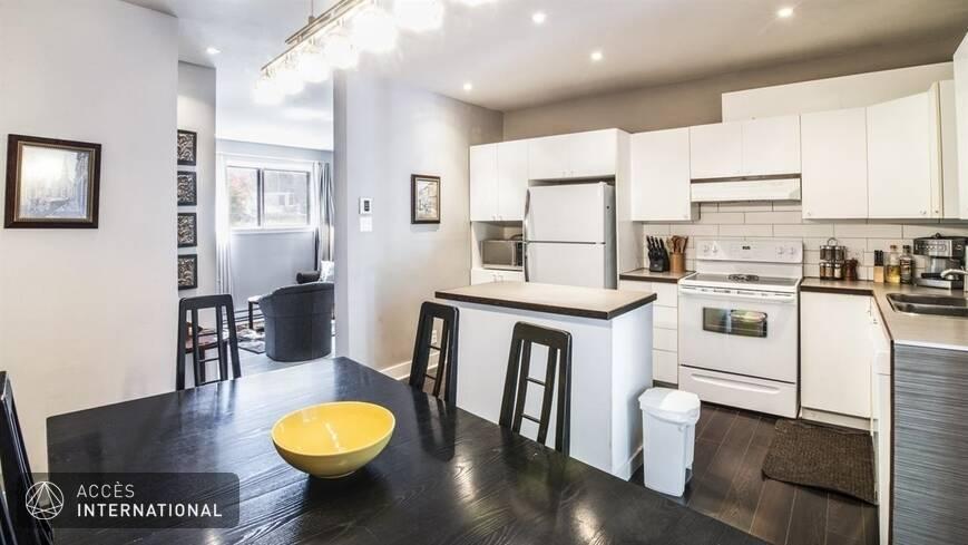 Joli appartement louer meubl et quip dans le quartier for Meuble 5000 montreal