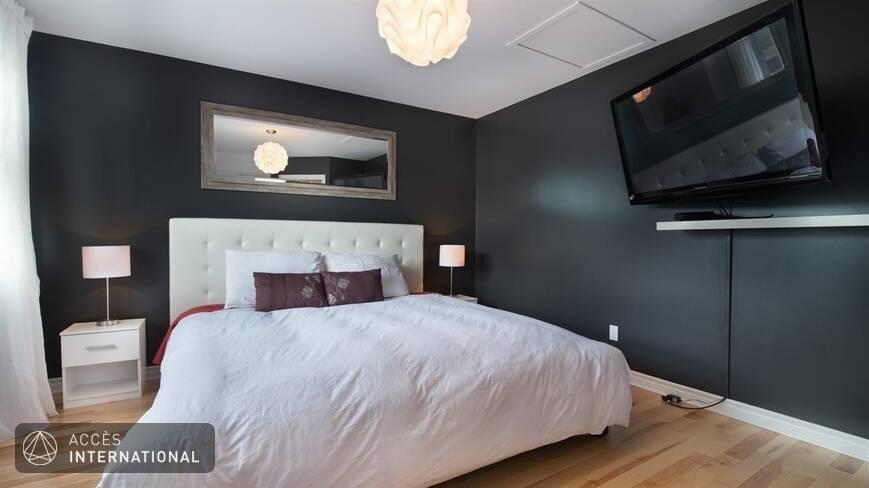 magnifique maison de ville meubl e louer rosem re rive nord. Black Bedroom Furniture Sets. Home Design Ideas