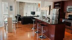 Located downtown Montreal completely furnished Condo for rent