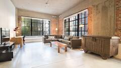 Luxurious all furnished and equipped loft for rent in the International Quarter, Montreal