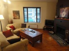Charming condo all furnished and equipped for rent in downtown Montreal