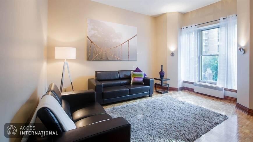 Appartement spacieux louer meubl et quip au centre for Louer meuble montreal