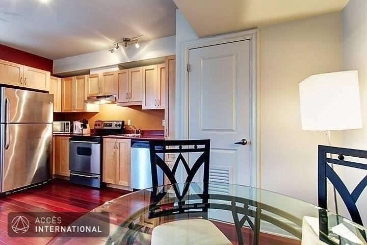 Appartement meubl lou au centre ville de montr al for Appartement meuble montreal