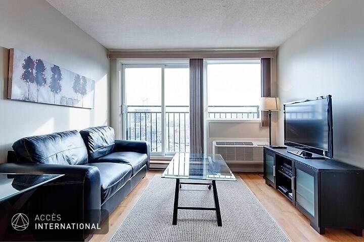 Appartement meubl louer dans le quartier griffintown for Logement meuble a montreal