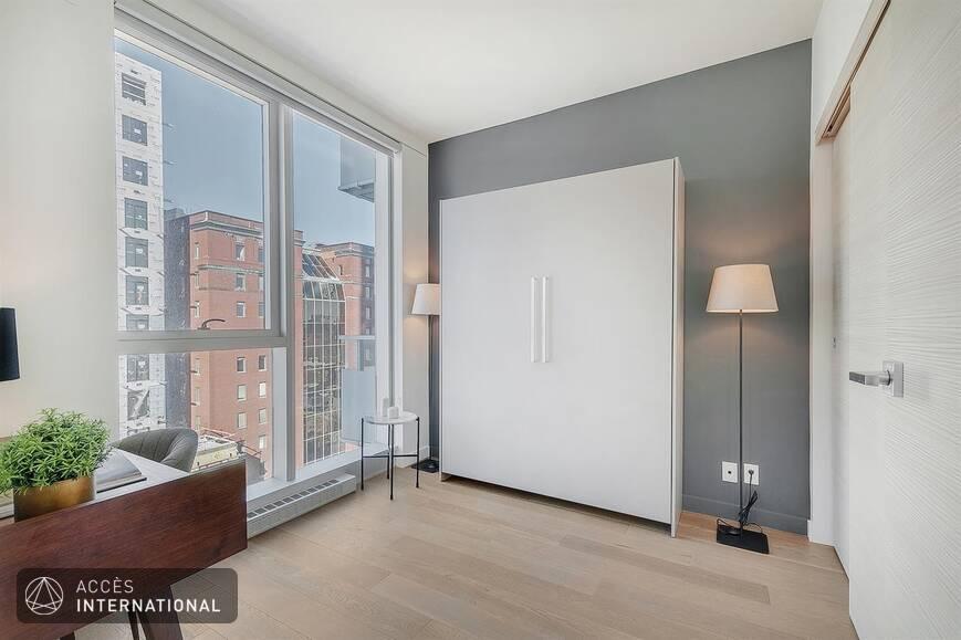 Condo neuf meubl louer au centre ville de montr al - Chambre a louer centre ville montreal ...