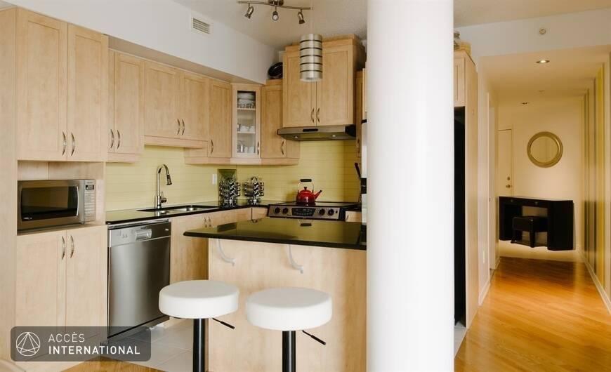 Appartement meubl louer dans le quartier c te des for Appartement meuble a montreal
