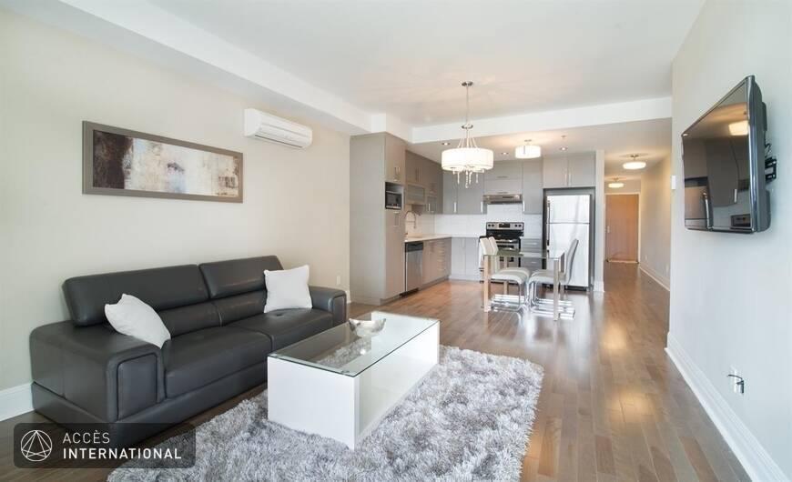 Magnifique appartement de style urbain louer meubl et for Meuble carrefour laval