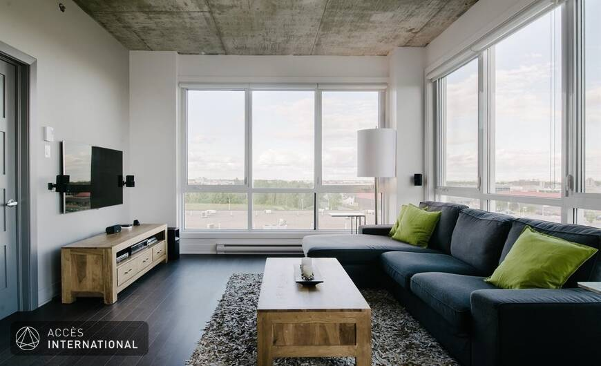 Luxueux penthouse compl tement meubl louer laval for Meuble luxe montreal