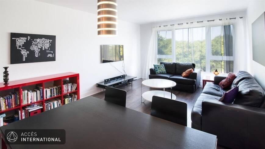 Joli condo neuf louer meubl et quip pr s du centre for Meuble ville montreal