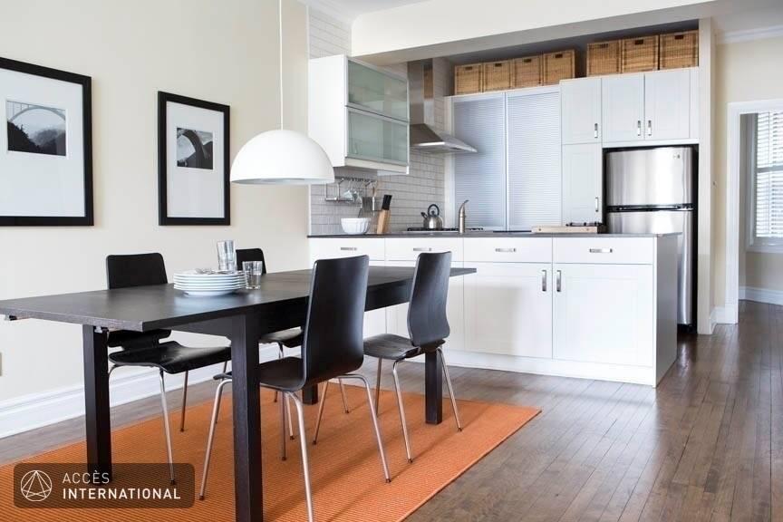 Superbe appartement meubl louer outremont pr s de bernard - Location appartement meuble montreal ...