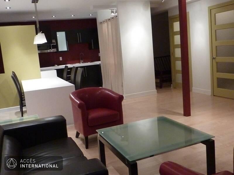 location appartement meubl avec 2 chambres au coeur de villeray montr al. Black Bedroom Furniture Sets. Home Design Ideas