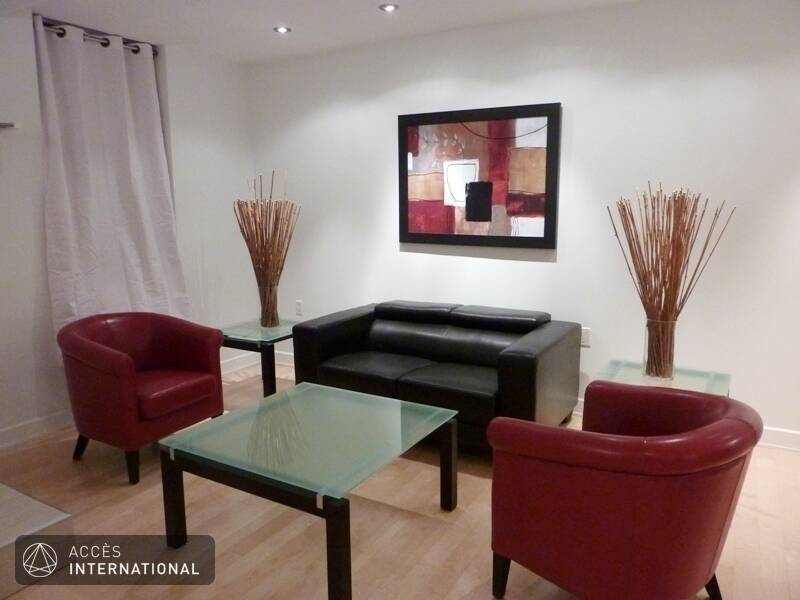 Location appartement meubl avec 2 chambres au coeur de for Meuble 5000 montreal