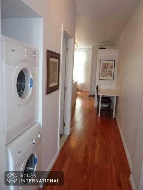 condo meubl louer dans le quartier villeray de montr al accepte les animaux. Black Bedroom Furniture Sets. Home Design Ideas