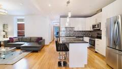 Furnished modern condo for rent in Plateau-Mont-Royal in Montreal