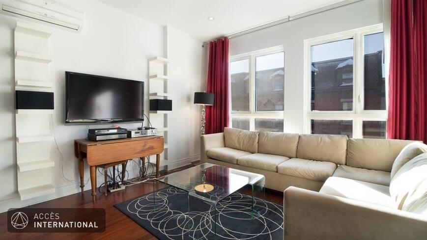 Appartement lumineux meubl louer au plateau mont royal for Meuble a louer montreal