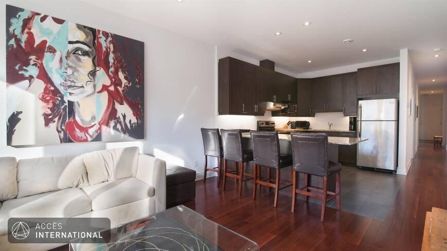 appartement lumineux meubl louer au plateau mont royal. Black Bedroom Furniture Sets. Home Design Ideas
