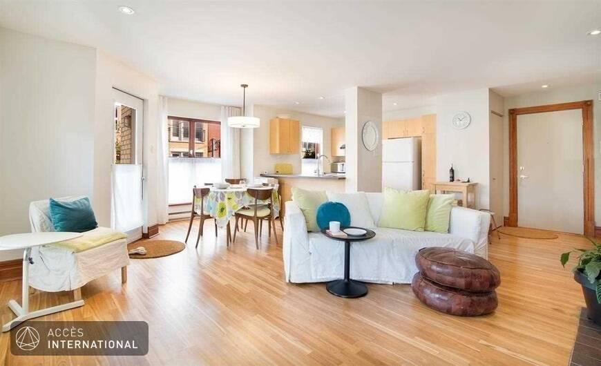 Appartement meubl louer au coeur du mile end et plateau for Meuble a louer montreal