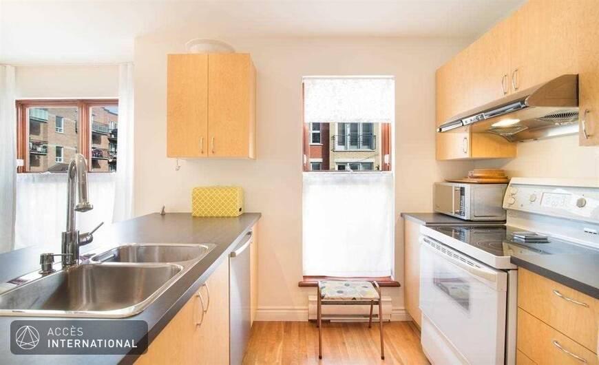 appartement meubl louer au coeur du mile end et plateau mont royal montr al. Black Bedroom Furniture Sets. Home Design Ideas