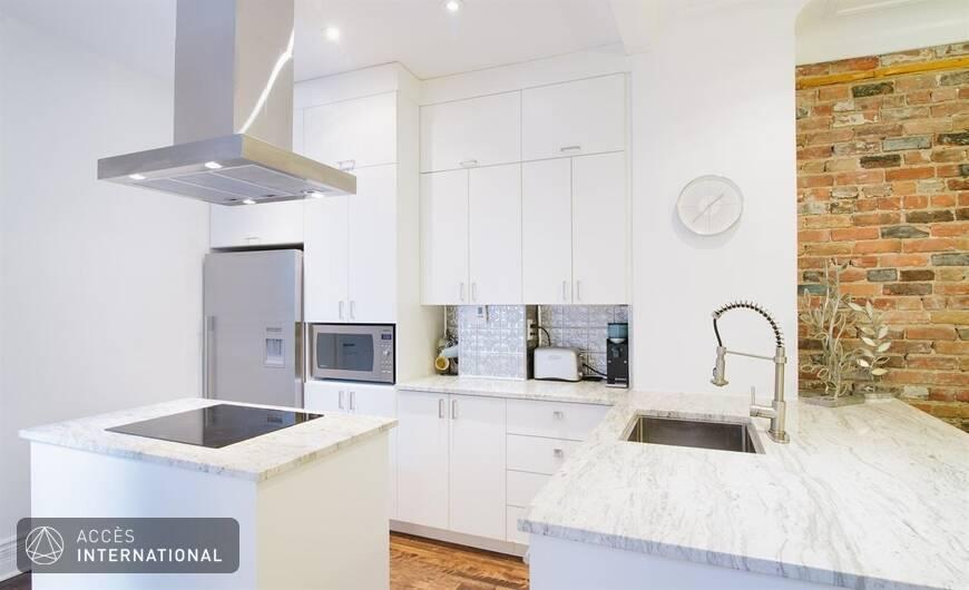 Appartement meubl louer dans le quartier mile end for Appartement meuble montreal