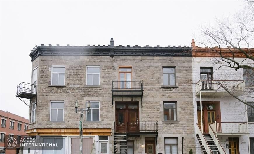 Appartement meubl louer dans le quartier mile end for Logement meuble a montreal