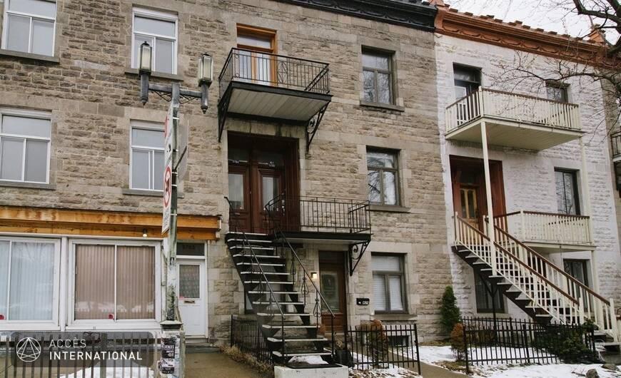 Appartement meubl louer dans le quartier mile end - Location appartement meuble montreal ...