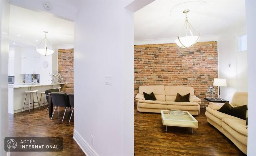 Appartement meubl louer dans le quartier mile end for Meuble 5000 montreal