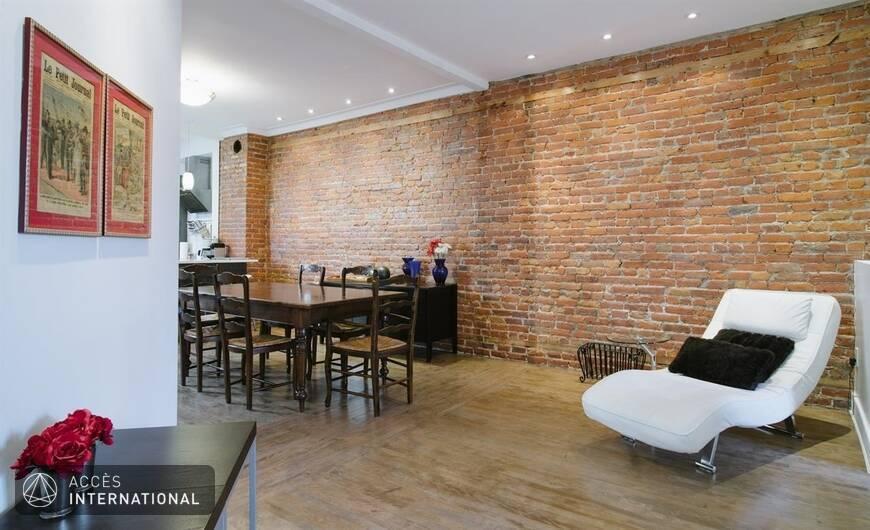 superbe appartement meubl et quip louer montr al secteur du mile end. Black Bedroom Furniture Sets. Home Design Ideas