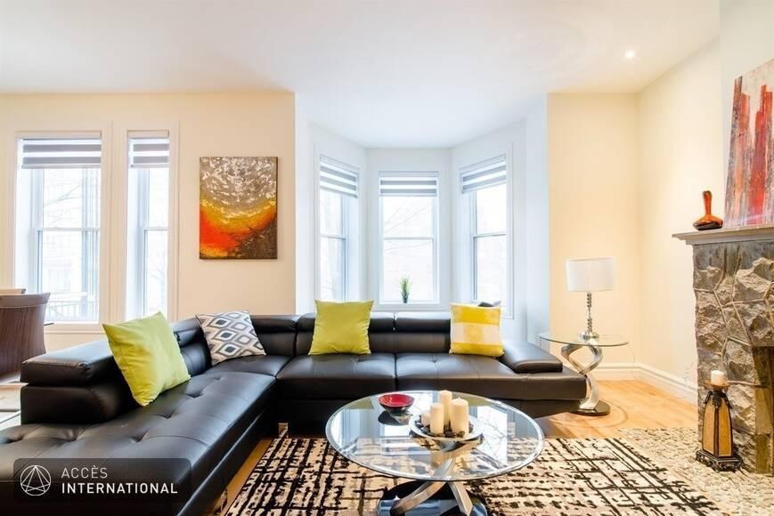 Montral Appartement Meubl Et quip  Montral Quartier Plateau