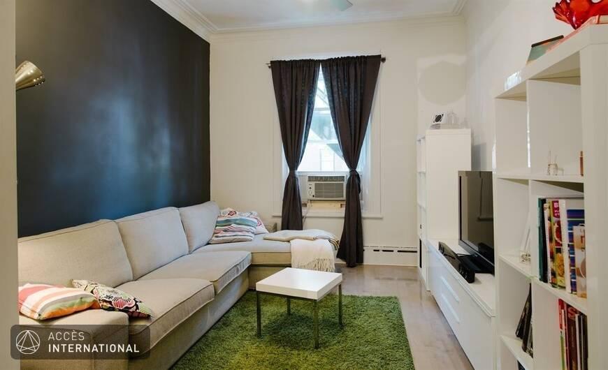 maison meubl e louer dans le quartier villeray montr al. Black Bedroom Furniture Sets. Home Design Ideas