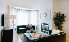 Superb fully furnished and equipped condo located on the North Shore of Montreal, in the pretty town of Ste-Dorothée, about 30 minutes from downtown Montreal