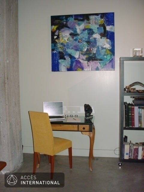 Condominium de style loft louer vieux montr al montr al for Meuble vieux montreal