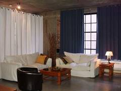 Loft style condominium for rent Vieux-Montreal Old-Montreal, furnished apartement condo rental.