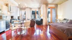 Furnished condo for rent located in the Old Montreal