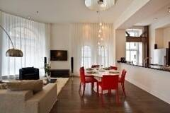 Luxurious condo for rent furnished and equipped Old Montreal