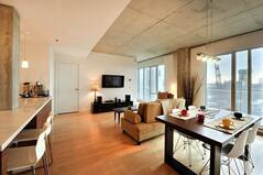 Luxurious and fully furnished condo for rent located in Old Montreal