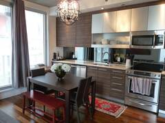 Beautiful property for rent fully furnished and equipped in Old Montreal.