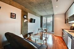 Property fully furnished and equipped for rent in Old Montreal.