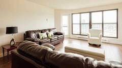 Condo furnished and equipped for rent in Sainte-Foy district of Quebec City.