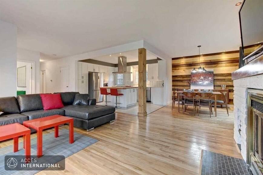 magnifique maison compl tement meubl e louer qu bec secteur de sainte foy. Black Bedroom Furniture Sets. Home Design Ideas