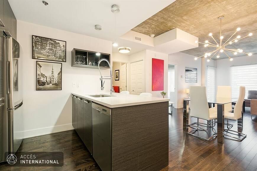 condo meubl louer dans le secteur griffintown de montr al. Black Bedroom Furniture Sets. Home Design Ideas
